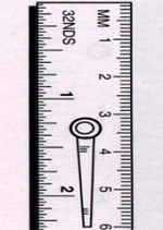 15cm x 19mm Metric/Clip Rule